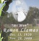 Profile photo:  Ramon Llamas