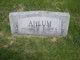 William George Ahlum