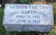 """Andrew Wilson """"Andy"""" Hartz"""