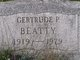 Gertrude P <I>Hynes</I> Beatty