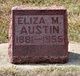 Eliza Matilda <I>Day</I> Austin
