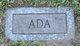 Profile photo:  Ada <I>Trafford</I> Wood