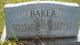 Margaret M <I>Mosholder</I> Baker