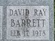 David Ray Barrett