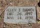 Profile photo:  Allen E. Dancy