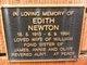 Edith Newton
