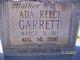 Profile photo:  Ada Lee <I>Reece</I> Garrett