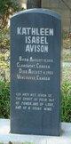 Kathleen Isabel <I>Rawson</I> Avison