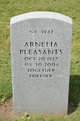 Profile photo:  Arnelia Pleasants
