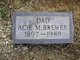 Profile photo:  Acie McKinley Brewer, Sr