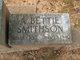 Profile photo:  A Bettie Smithson