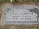 Profile photo:  Ida L. Adkins