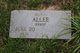Profile photo:  Alma Allee