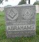 Profile photo: Sgt Herman D. Abrahams