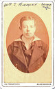 "Profile photo:  Johann Wilhelm ""William"" Niemann"