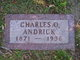 Profile photo:  Charles O Andrick