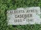 Profile photo:  Albert Ayres Casebier