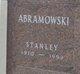 Profile photo:  Stanley Abramowski