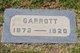 Profile photo:  Garrott