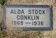 Profile photo:  Alda <I>Stock</I> Conklin
