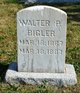 Profile photo:  Walter Paul Bigler