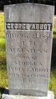 Profile photo:  George Abbott