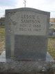 Lessie L. Sampson