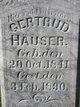 Gertrud Caroline <I>Winter</I> Hauser