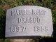 Profile photo:  Maude <I>Kump</I> Dragoo