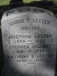 George T Lester