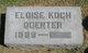 Profile photo:  Eloise <I>Koch</I> Doerter