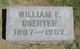 Profile photo:  William F Doerter