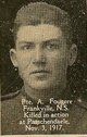 Private Alexander Fougere