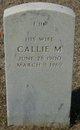 Profile photo:  Callie M Carr