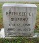 Kathleen E Murphy