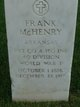 Frank McHenry