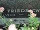 "Profile photo: Dr Friederich Paul ""Fritz"" Brender"