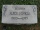 Profile photo:  Alice Hinkel