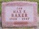 Profile photo:  Max E. Baker