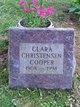 Clara Marie <I>Christensen</I> Cooper