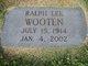 Ralph Lee Wooten