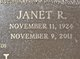 "Janette ""Janet"" <I>Regg</I> Ragan"