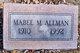 Profile photo:  Mabel Modine <I>Jones</I> Allman