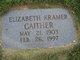 Elizabeth <I>Kramer</I> Gaither