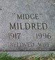 "Mildred M. ""Midge"" Buck"