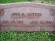 Anna Rose <I>Bornhoffer</I> Sutton