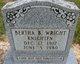 Profile photo:  Bertha Beatrice <I>Wright</I> Knighten