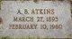 "Aylmer Buford ""A.B."" Atkins"