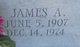 """James Arthur """"Bill"""" Bailey"""