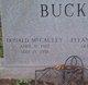"""Profile photo:  Donald McCauley """"Donnie"""" Buck"""